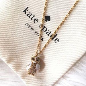Kate spade mini owl pendant